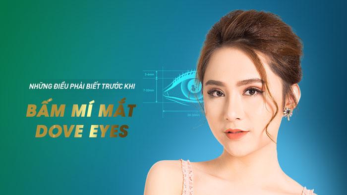 Bấm Mí Mắt Dove Eyes - Tạo Mắt 2 Mí - Không Cần Phẫu Thuật