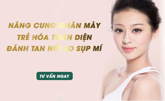 Nâng Cung Chân Mày Nội Soi