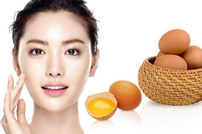 Cách trị bọng mỡ dưới mắt to với trứng gà