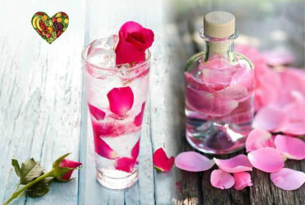 Cách trị bọng mắt dưới bằng nước hoa hồng